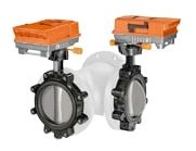 3-tie Control butterfly valves laippa (PN 16, DN 150...DN 300)